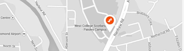 Paisley Campus Map
