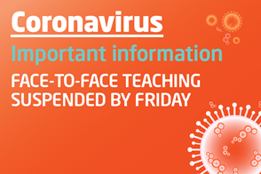 Coronavirus Teaching Suspended - Student Intranet - Banner.jpg