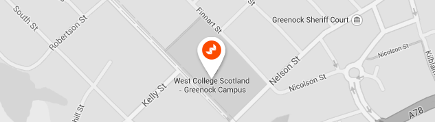 Greenock Campus Map
