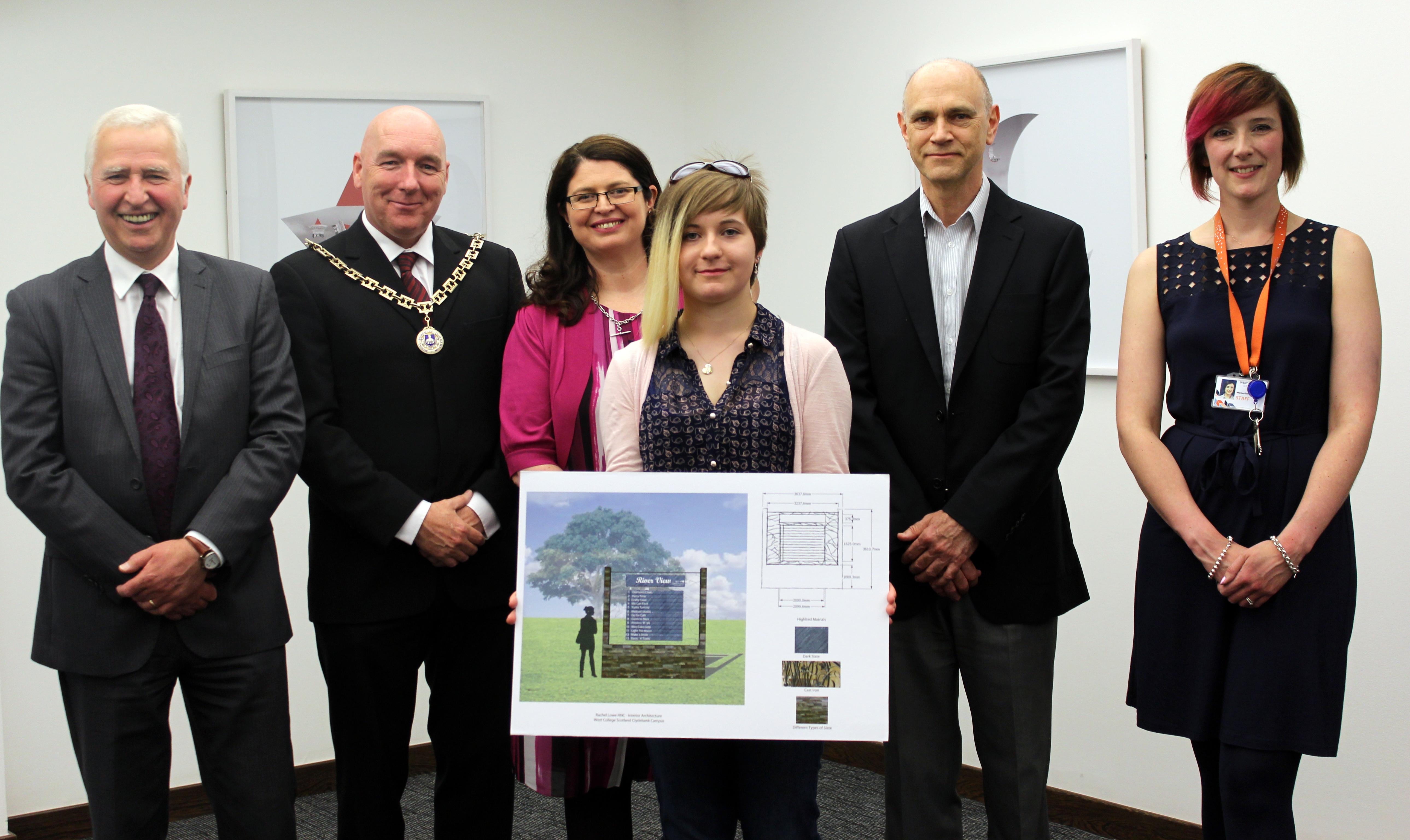 Rachels design chosen for New Vale of Leven Workshops West