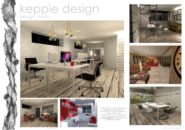 Wcs Student Wins Competition To Design Keppie 39 S New Workspace West College Scotland