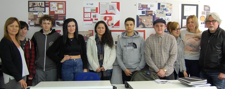 WCS Paisley NC Interior Design students bring creativity to Morse