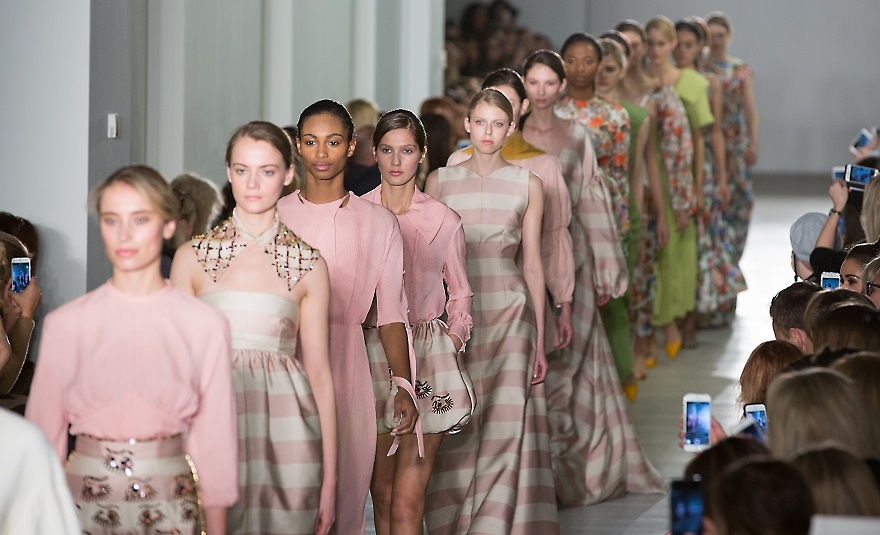 Wcs Photography Students Capture World Top Trends At The London Fashion Week West College Scotland