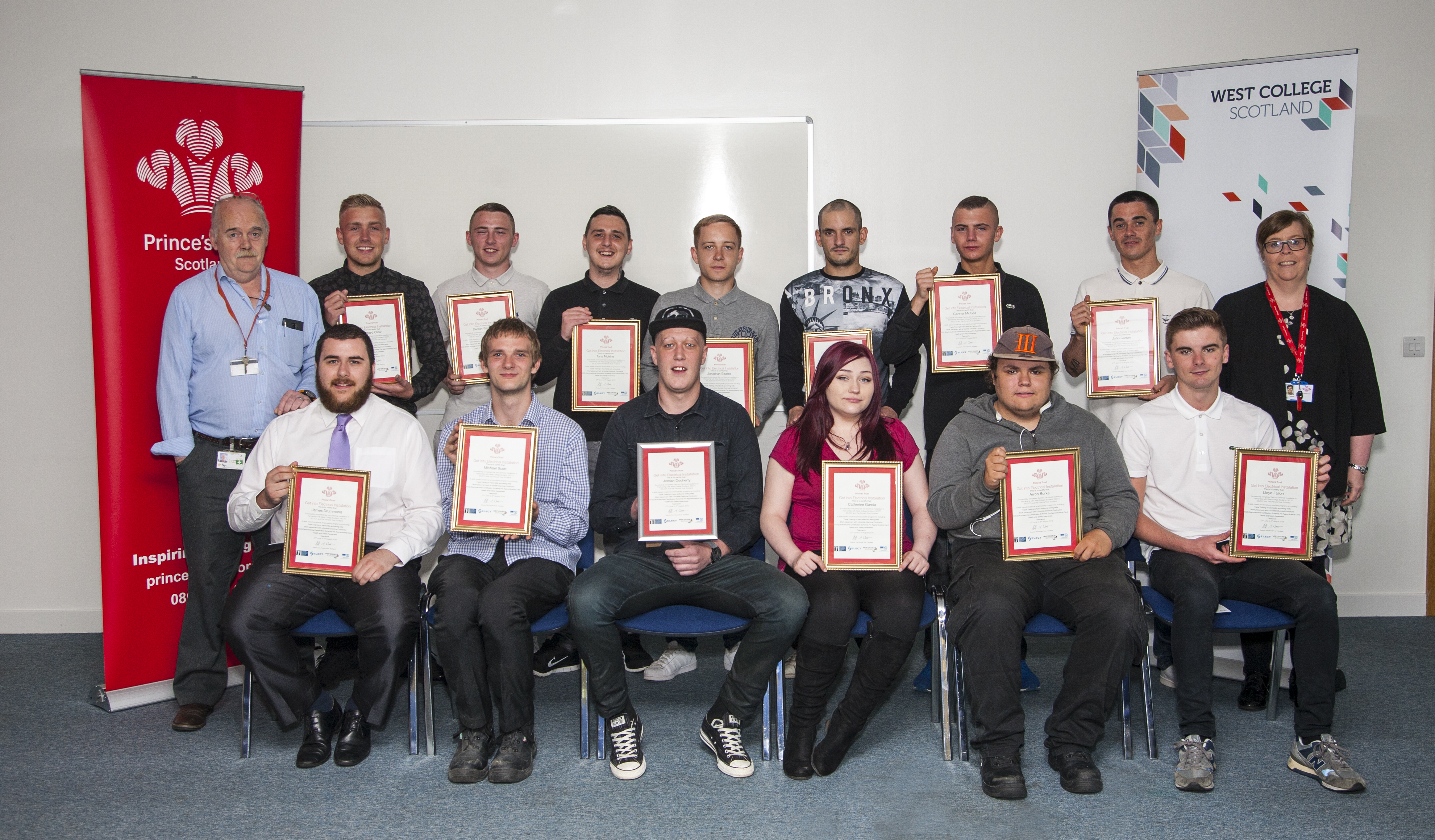 west college scotland help spark bright futures for